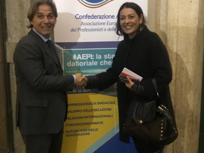 Battesimo istituzionale per l'AEPI: Gabriele Tullio Direttore Generale