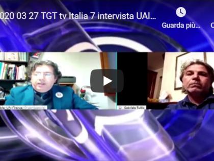 La UAI a sostegno degli ambulanti: ecco la video intervista al tg di Italia 7 Toscana
