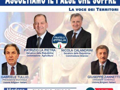 La Voce dei Territori: la UAI incontra i senatori La Pietra e Calandrini