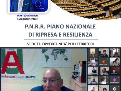 Ripresa post-Covid: le sedi UAI a confronto con l'europarlamentare Matteo Adinolfi